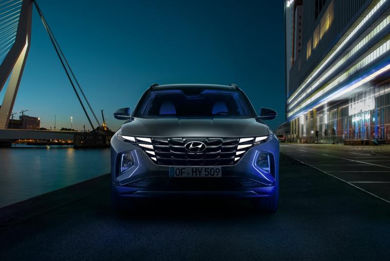 Frontansichtdes neuen Hyundai TUCSON
