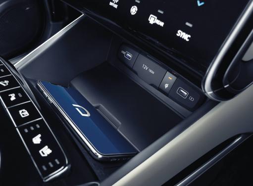 Lade-Ablage  des neuen Hyundai TUCSON