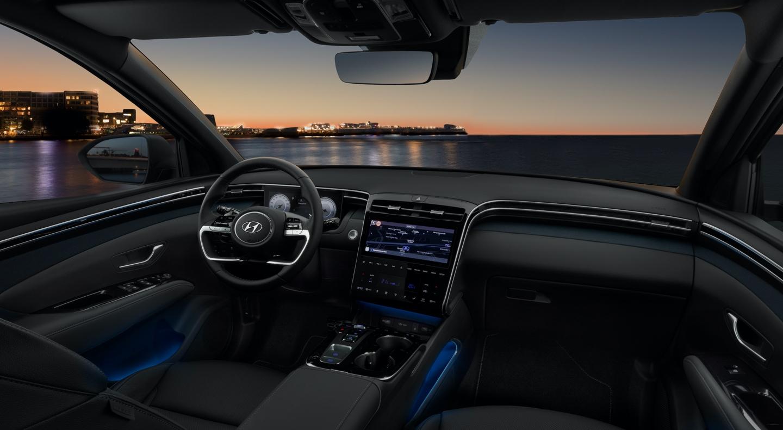 Innenraum des neuen Hyundai TUCSON