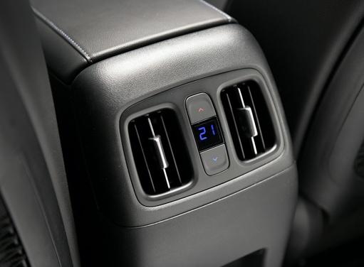 3-Zonen-Klimaautomatik des neuen Hyundai TUCSON