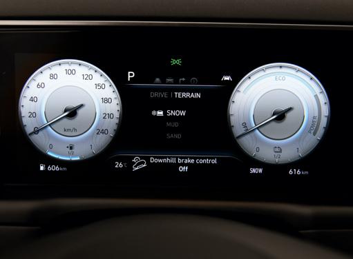 Digitales Cockpit des neuen Hyundai TUCSON