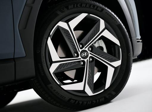 19-Zoll-Leichtmetallfelgen des neuen Hyundai TUCSON