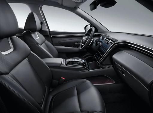 Vordersitze des neuen Hyundai TUCSON