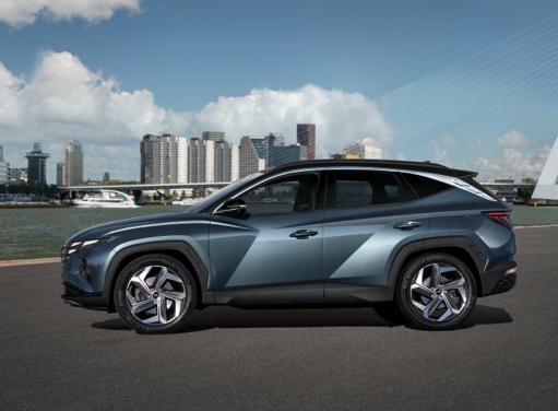 Seitenansicht des neuen Hyundai TUCSON