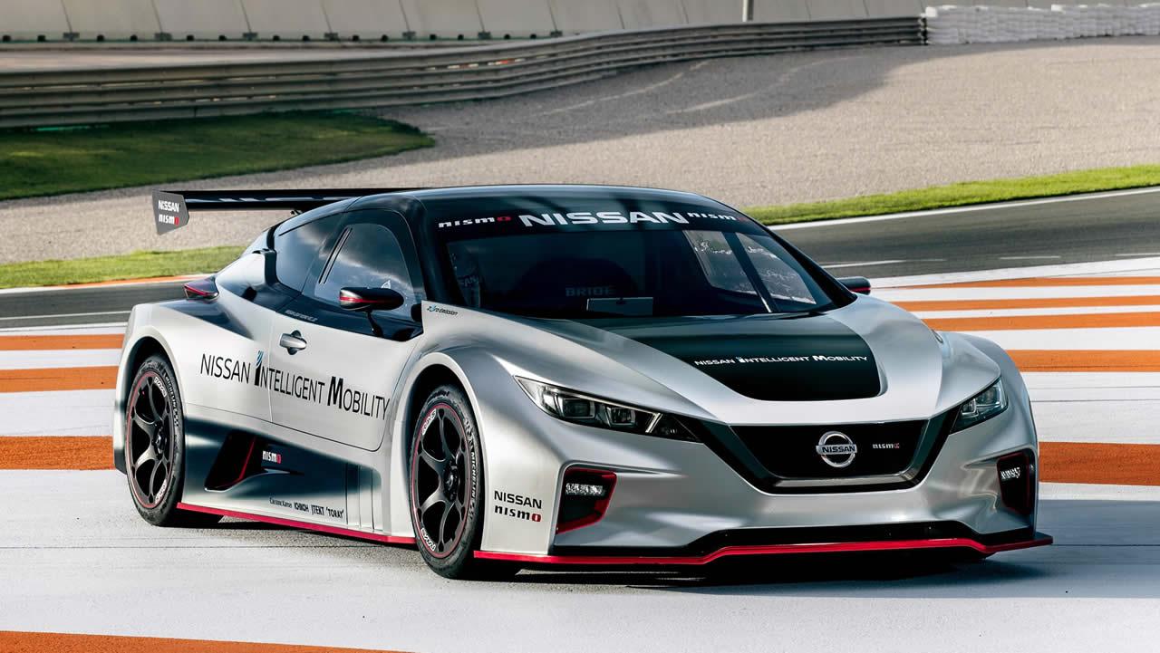 Nissan показа LEAF NISMO RC за първи път в Европа