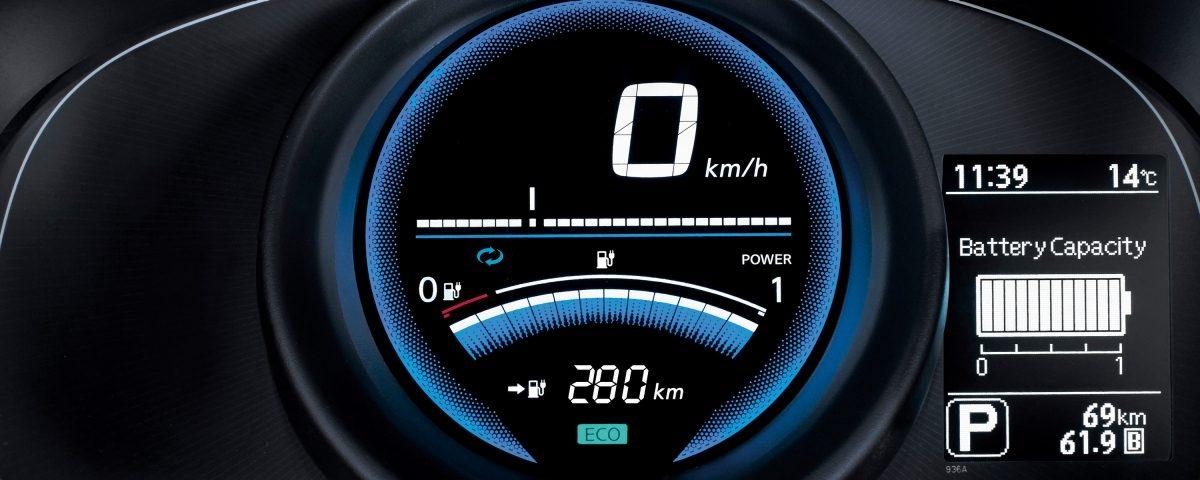 Таблото на новия Nissan e-NV200