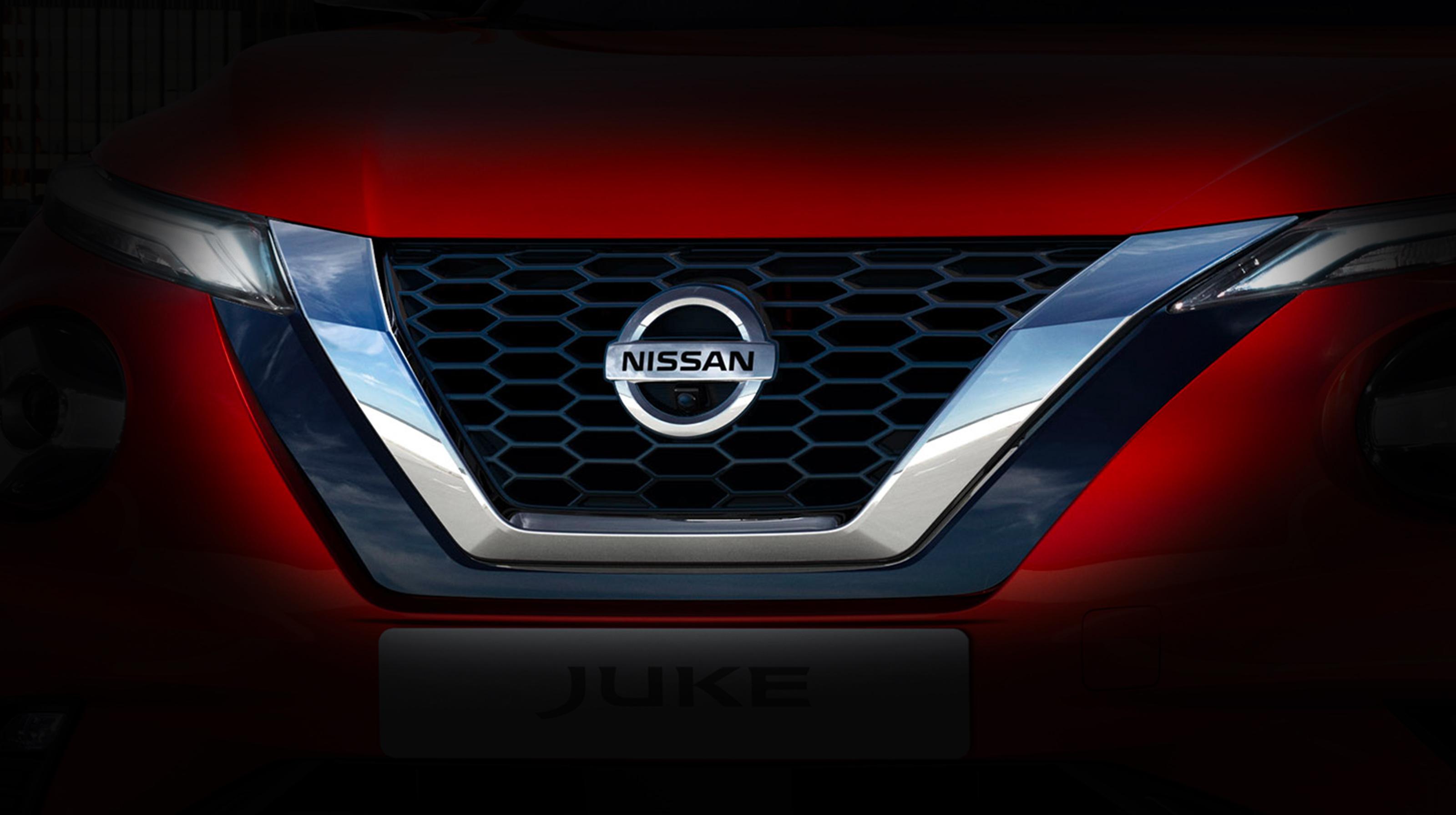 Nissan JUKE V-motion grille