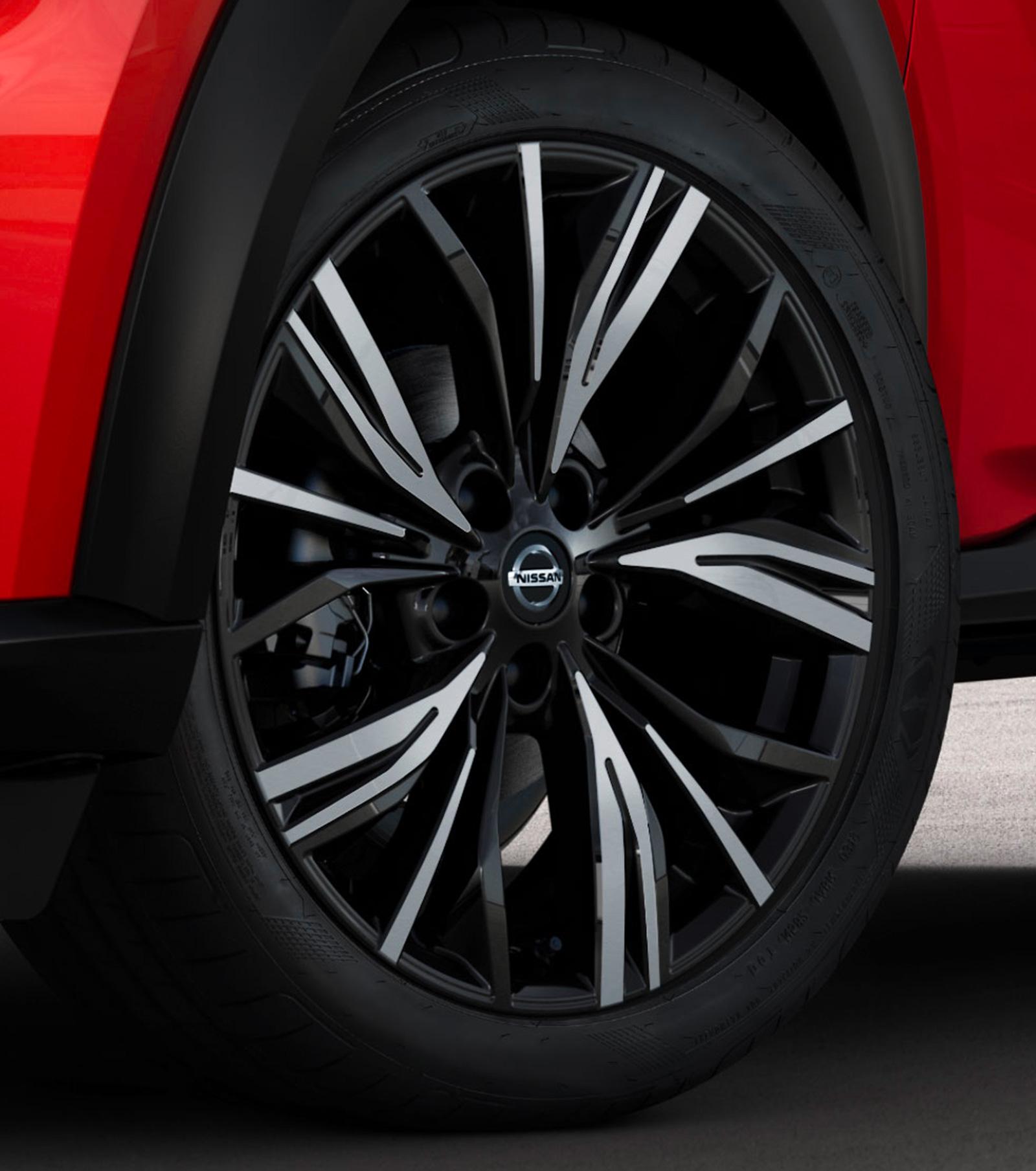 Nissan JUKE 19 inch alloy wheel
