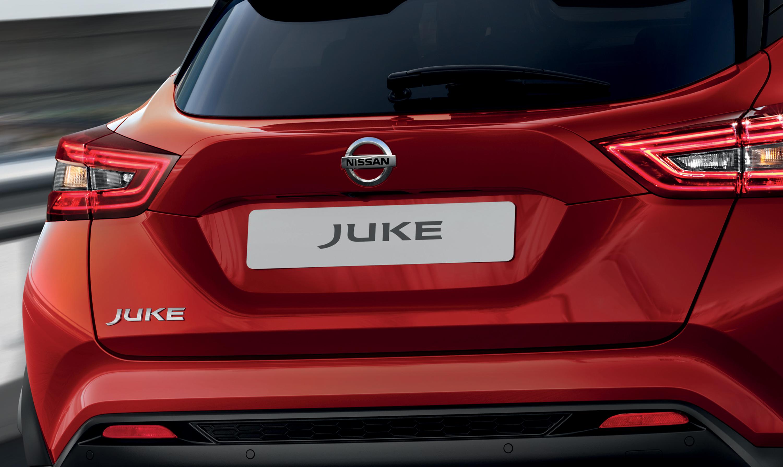 Nissan JUKE trapezoid duck tail