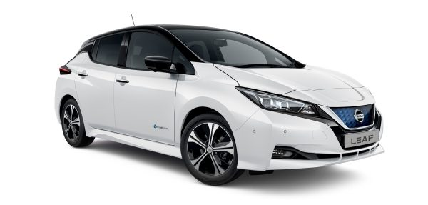 Nissan LEAF white