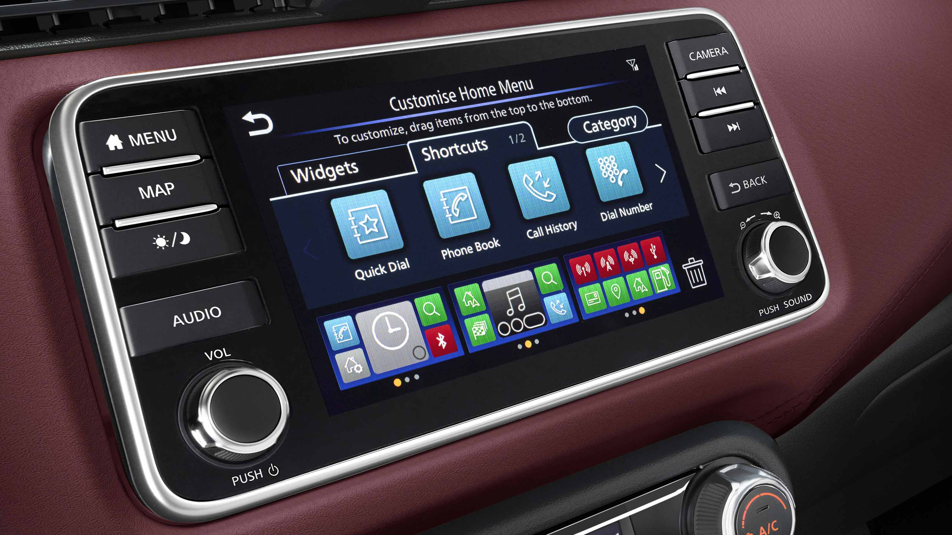 """Nissan Micra 7"""" Touch Screen"""