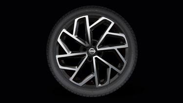 Nissan Micra Sculpted Alloy Wheel