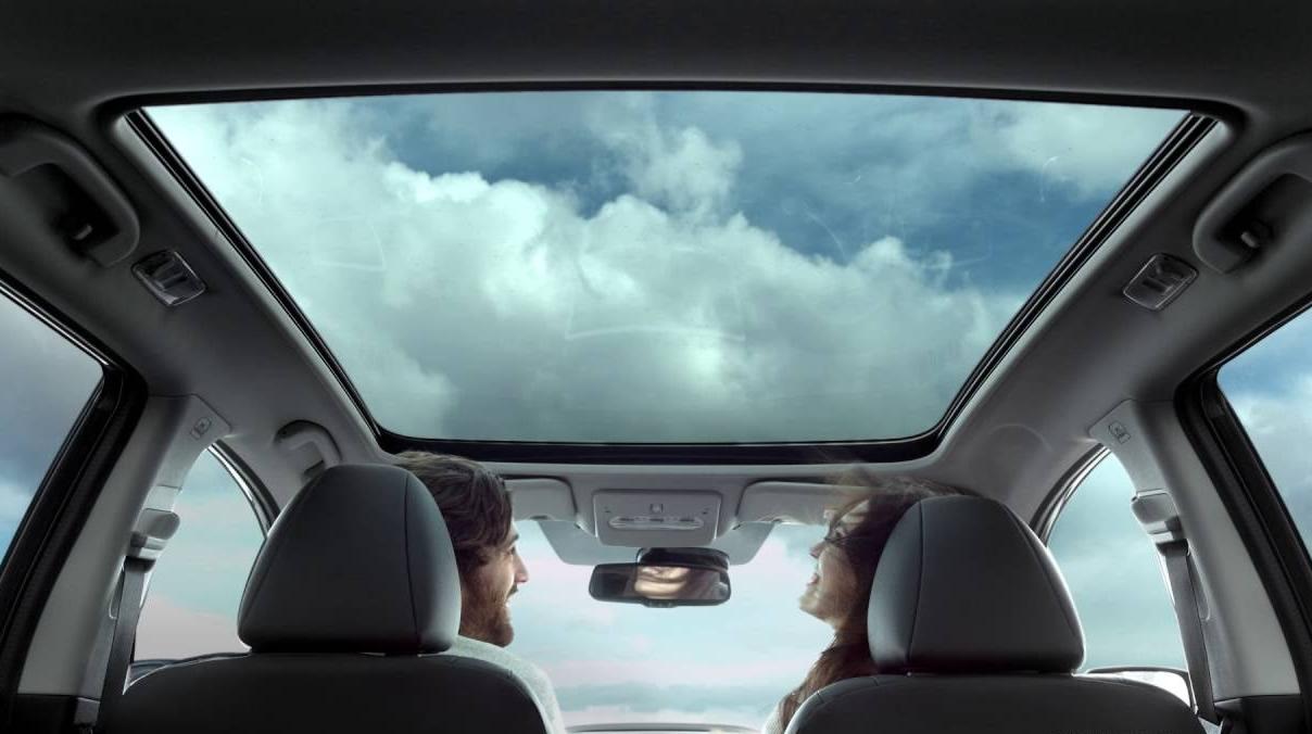 Панорамен стъклен покрив